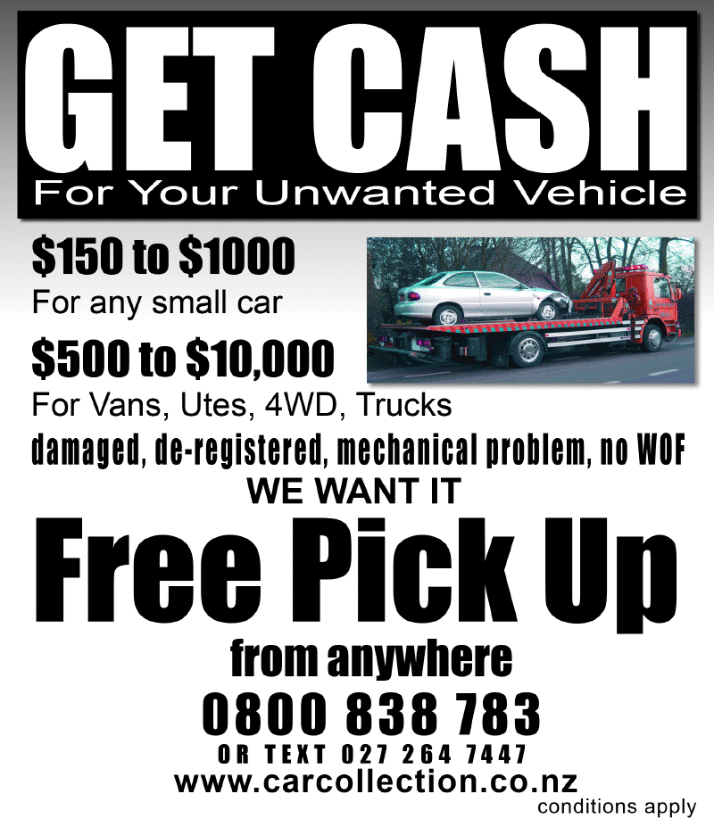 Cash For Cars Levin Wanganui Wairarapa